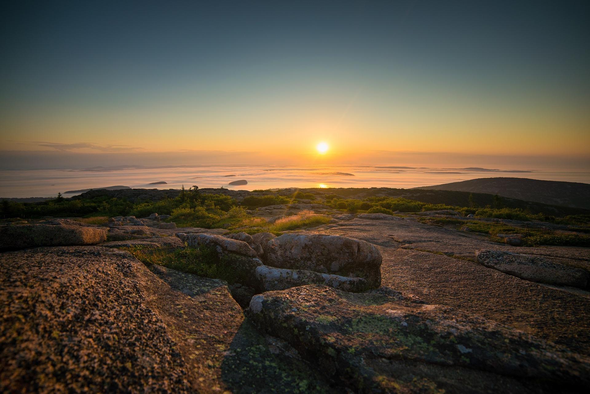 sunrise of a new era